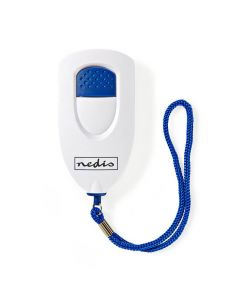 NEDIS ALRMP40WT Personal Safety Alarm Lightweight = 85dB Alarm White 233-1357