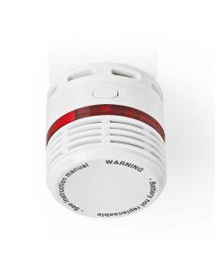 NEDIS DTCTSL50WT Smoke Detector EN14604 10-Year Lifespan Small Design 233-1407