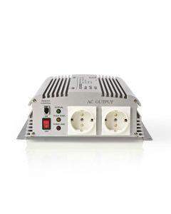 NEDIS PIMS170024 Power Inverter Modified Sine Wave 24 V DC - 230 V AC 1700W 2x S 233-1416
