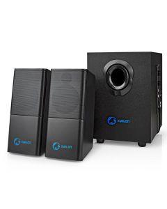 NEDIS GSPR10021BK Gaming Speakers 2.1 USB powered 3.5mm jack 33 W 233-1528