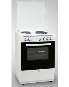 Ηλεκτρική κουζίνα με Αέρα Εμαγιέ Robin BN 64 Άσπρη