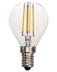 ΛΑΜΠΑ LED ΣΦΑΙΡΙΚΗ FILAMENT 4W E14 2700K 220-240V 147-80922