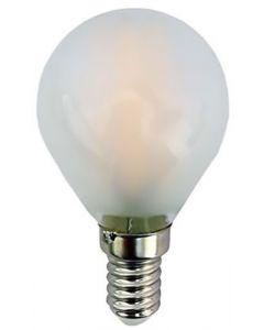 ΛΑΜΠΑ LED ΣΦΑΙΡΙΚΗ FILAMENT 4W E14 2700K 220-240V MAT 147-80924