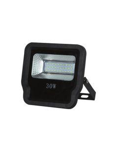 ΠΡΟΒΟΛΕΑΣ LED SMD 30W IP65 85-265V 3000K ΜΑΥΡΟΣ PRO 147-69525