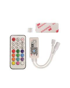 ΑΣΥΡΜΑΤΟ CONTROLLER RF Wifi RF RGBCCT 12A DC 12V/120W 24V/240W(MAX) 147-70633