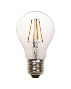 ΛΑΜΠΑ LED ΚΟΙΝΗ FILAMENT 8W E27 2700K 220-240V CLEAR 2τμχ BLISTER 800-81042