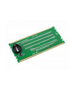 Tester για DDR2/DDR3 RAM slot μητρικής με ενδείξεις LED RAMSLOT-TSTR id: 20107