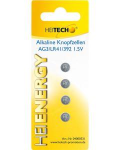 Heitech 04000531 Αλκαλικές μπαταρίες 4τμχ LR41 19710-0009