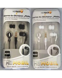Heitech 09001393 Στερεοφωνικά ακουστικά Hands Free με μικρόφωνο 19791-0025