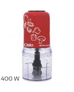 Osio OMC-2312R Κόκκινο Multi chopper με 2 λεπίδες 400 W 1103206-0002