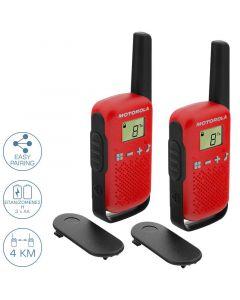 Motorola TALKABOUT T42 Walkie Talkie Κόκκινο 4 km 14587-0010
