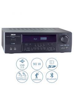 Akai AS110RA-320BT Ραδιοενισχυτής karaoke με Bluetooth και USB – 90 W 110582-3201