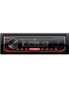 Ράδιο Αυτοκινήτου 1 DIN AUX/Bluetooth/USB 50Watt JVC KDX362bt