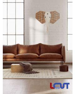 Ξύλινο κάδρο Ελέφαντας 72X67cm SKU-00030