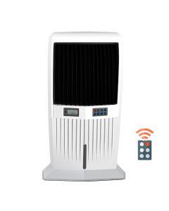 Air Cooler, 200W, ροή αέρα 5000m3/h, δοχείο 42lt, τηλεχειριζόμενο με ηλεκτρονικό panel ελέγχου, ύψος 113cm, προτεινόμενη κάλυψη: 15-40τμ - Telemax 5000 - Telemax