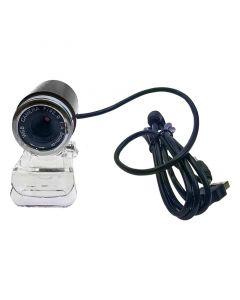 Bullet Web Camera USB με μικρόφωνο 3.5mm Black 0420.012