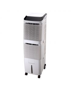 Air Cooler, 180W, ροή αέρα 2000m3/h, δοχείο 30lt, τηλεχειριζόμενο με ηλεκτρονικό panel ελέγχου, ύψος 119cm, προτεινόμενη κάλυψη: 10-25τμ - ZLF-2802RC - Telemax
